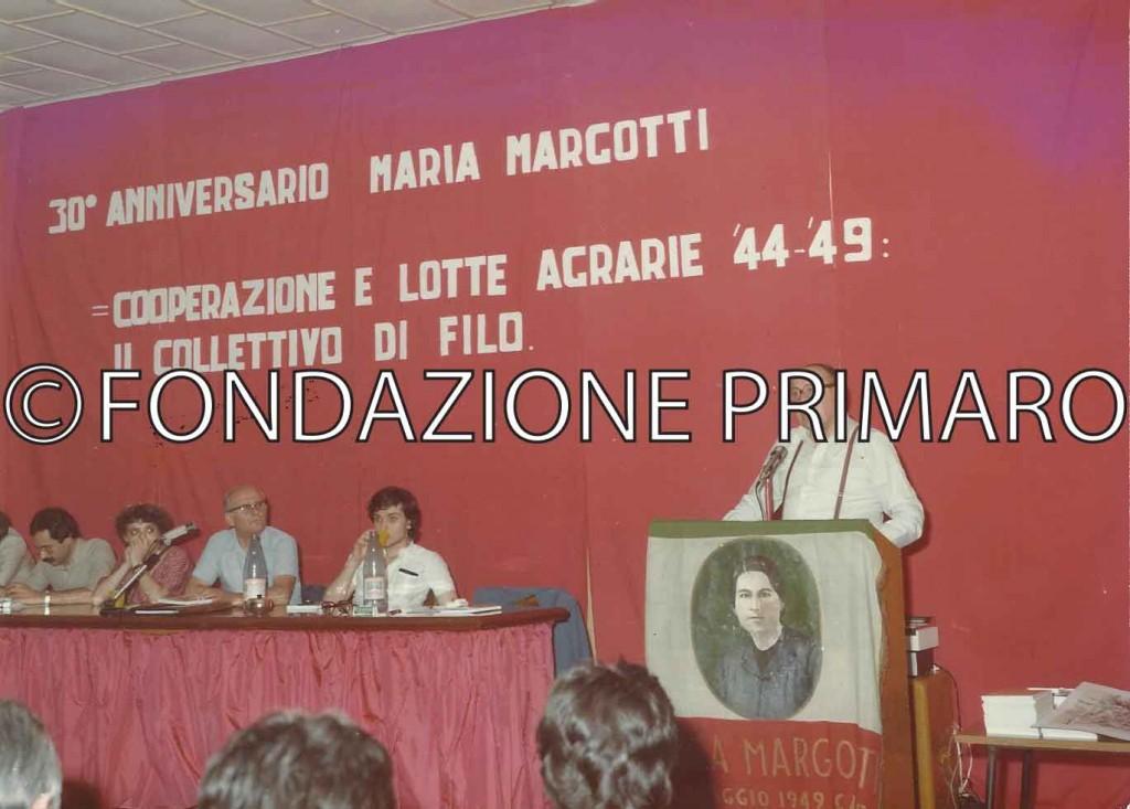 30° Anniversario della morte di Maria Margotti