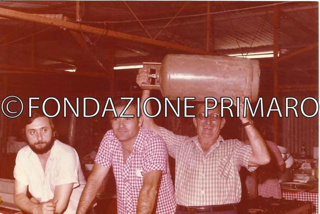 Da sinistra Ivan Ricci, Sauro Bolognesi e Francesco Tempioni (Cichino)