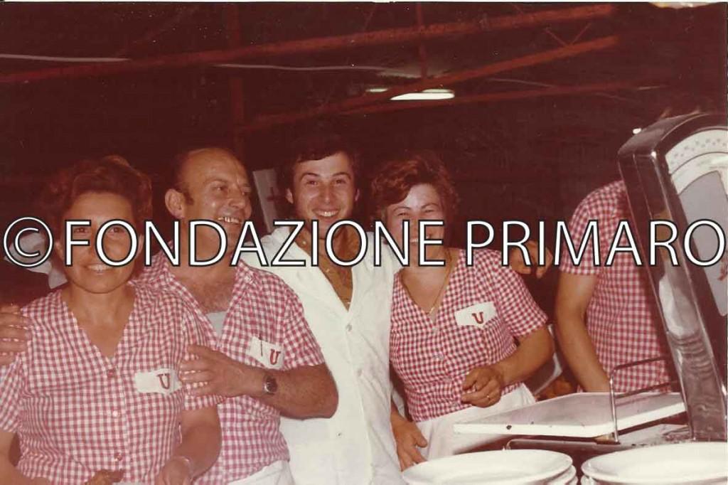 Da sinstra Diana Melandri, Domenico Tarozzi, Erminio Ricci e Lara Leoni