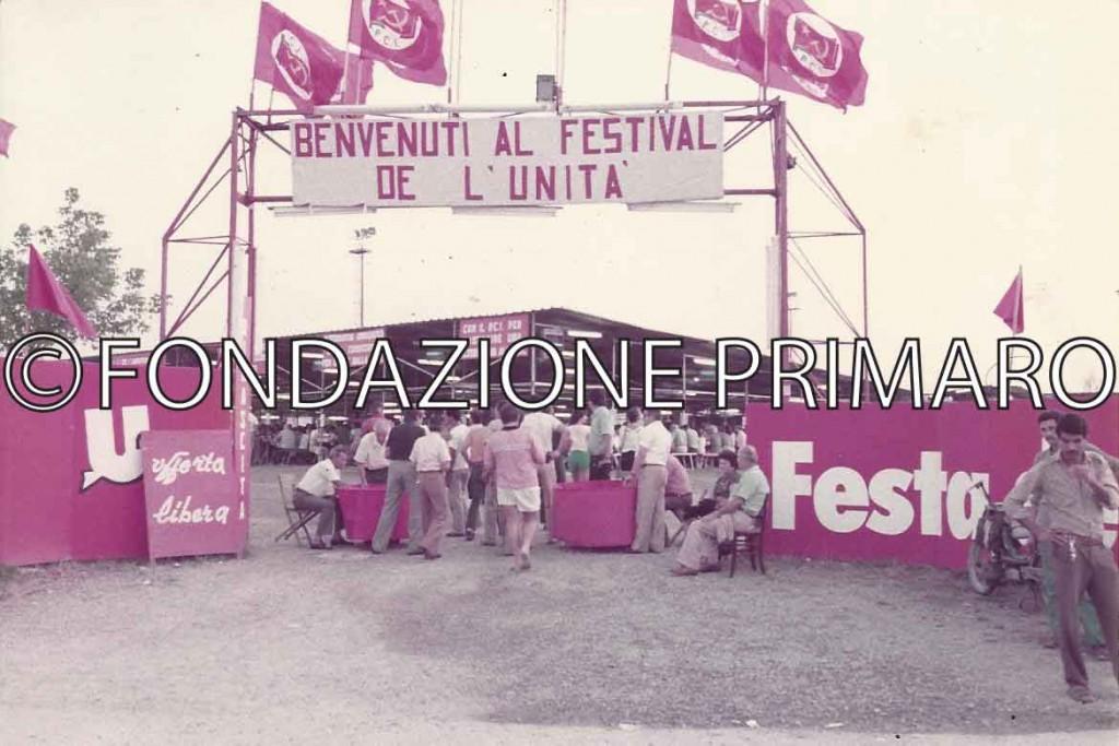 Festa 1986, l' entrata