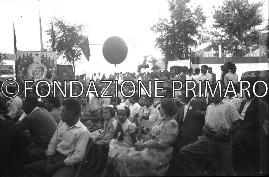 Anni '50 Comizio alla Festa de L'Unità