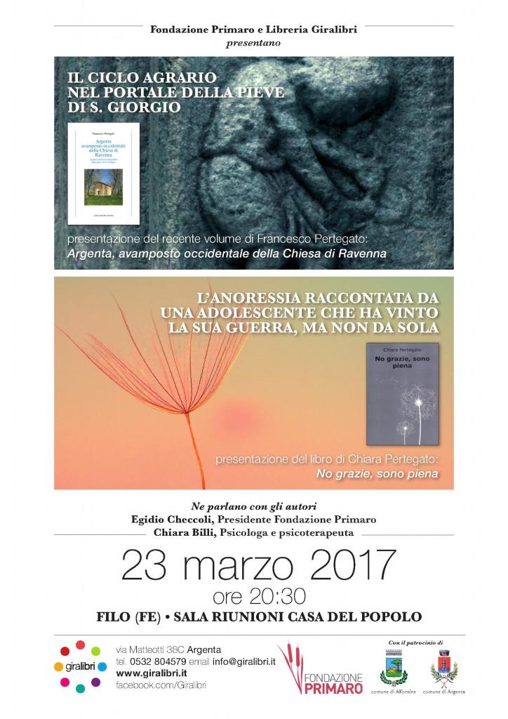 Locandina Presentazione libri 23 marzo